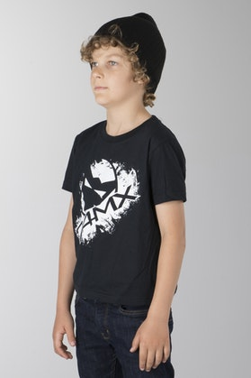 24MX Head Youth T-Shirt Black