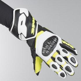 Spidi Carbo 7 Gloves Black-Fluorescente Yellow