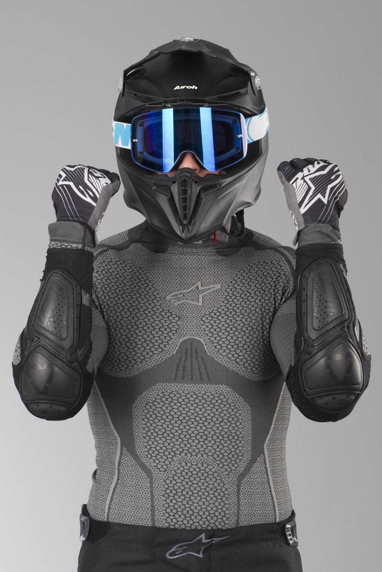 White, XX-Large Leatt Contour Elbow Guard