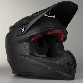 Kask cross Bell Moto-9 Carbon Flex Syndrome Czarny Mat
