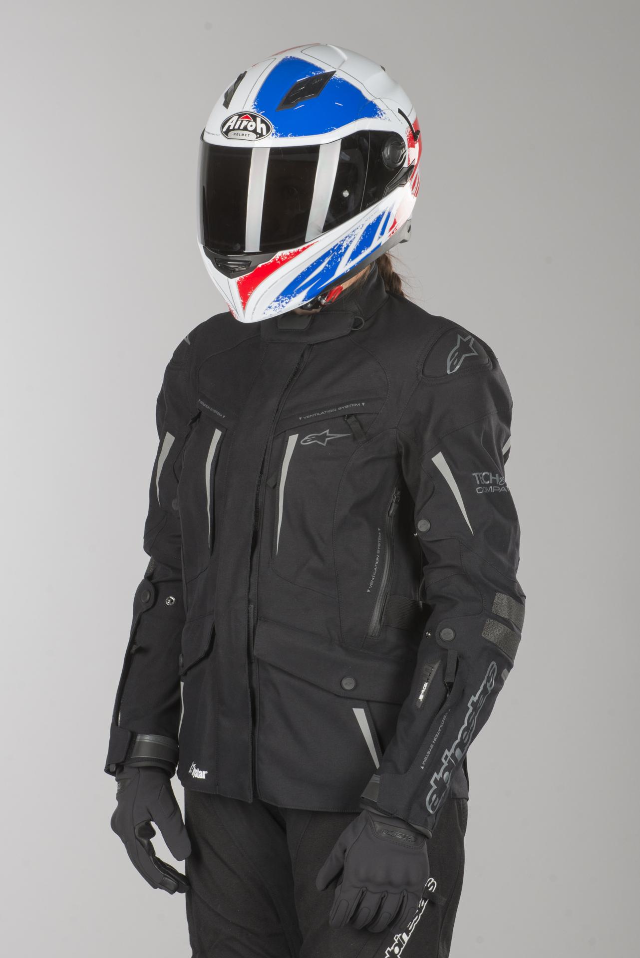 Jacket Black Yaguara Alpinestars Drystar Air Anthracite Stella Tech hQrCxtds
