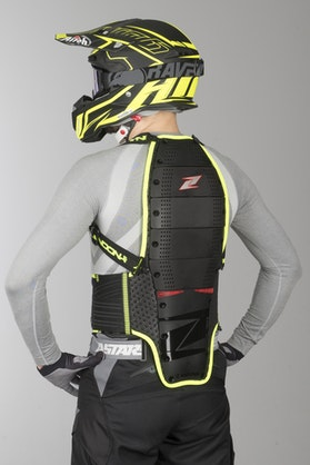 Zandona Spine EVC x8 Back Protection High Visibility Black