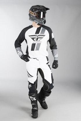Fly Evo MX Clothes Black-White
