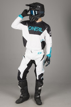 O'Neal Element Racewear MX Clothing Kit White