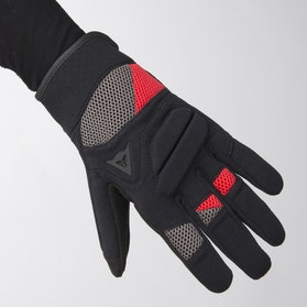 Rękawice Dainese Fogal Czarno-Czerwone