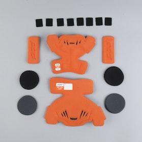 POD K1 MX Kids Knee Protection Spare Parts Left Orange