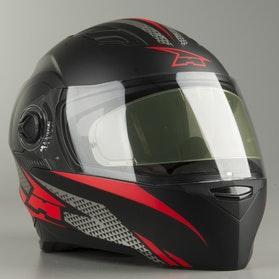 Kask Integralny AXO RS01 Czarno-Czerwony