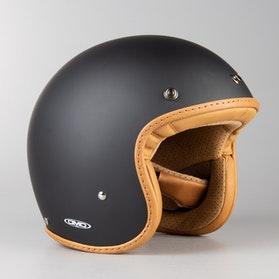 Hjelm DMD Leather Pillow Matsort-Brun