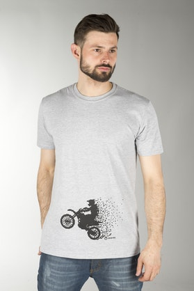 24MX MX Pixel T-Shirt Grey