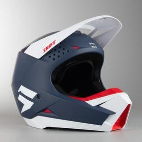 Motokrosová Helma Shift Whit3 MX 18 Námořní Modř