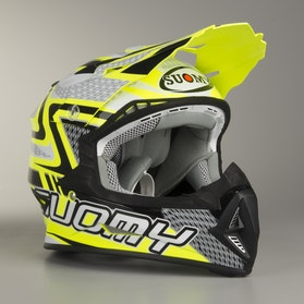Kask Cross Suomy Rumble Snake Żółty