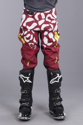 Alias A2 Youth Cheetah Pants Maroon-White