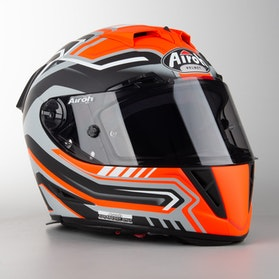 Kask Airoh GP 500 Rival Pomarańczowy Mat