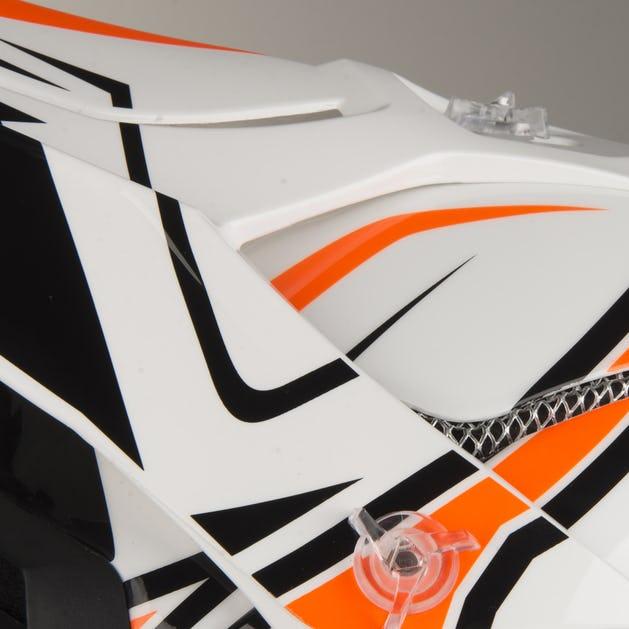 Airoh Terminator Open Vision Shock Orange