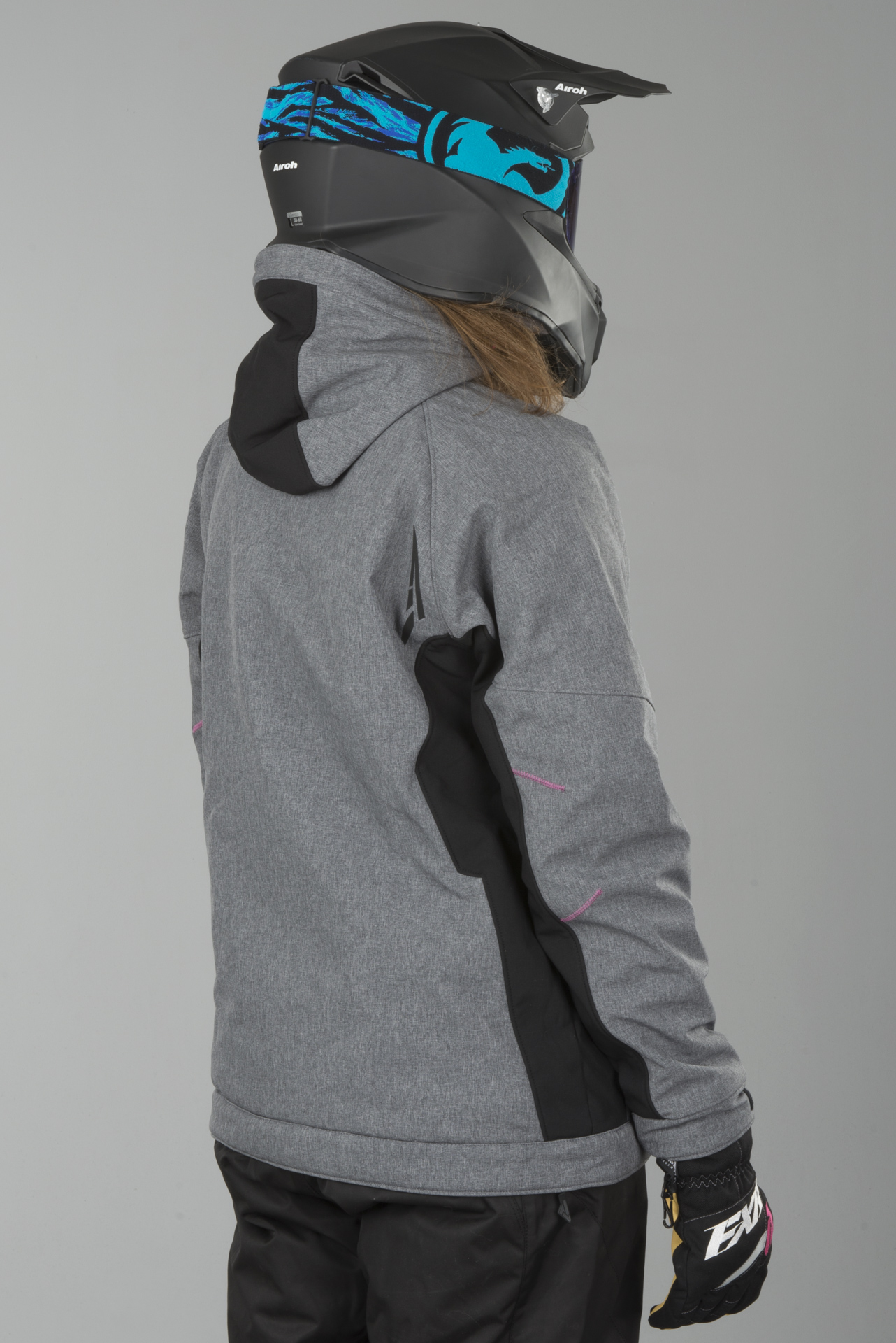 Jakke FXR Vertical Pro Softshell Dam Grå Fuchsia Nå 8% Du