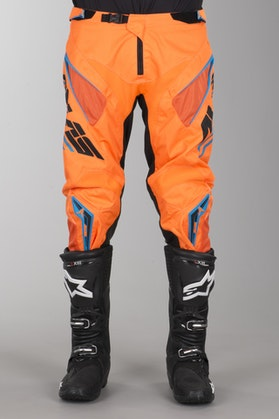 Alias A1 Analogue MX Pants Black-Neon Orange