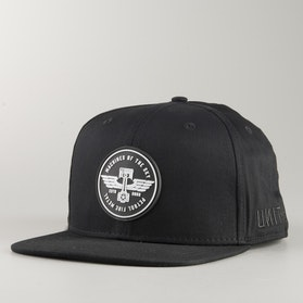 Unit Vanguard Snapback Cap Black