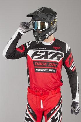 Bluza Cross FXR Revo Czerwono-Czarno-Biała