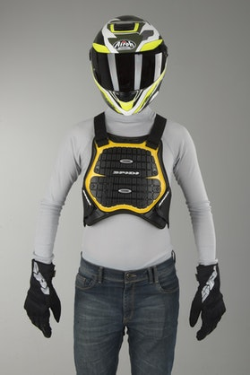 Spidi Defender 170-180 Chest & Back Protector Black-Yellow