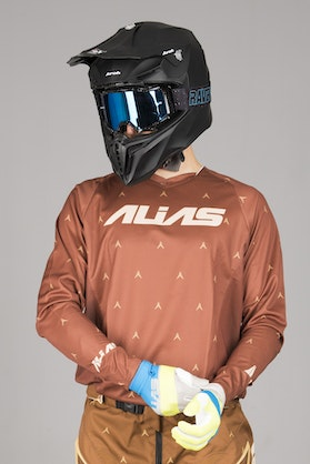 Alias A1 Designer MX Jersey Brown