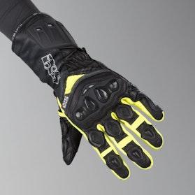 IXS RS-200 Gloves Black-Yellow