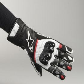 Rękawice Alpinestars SP-2 V2 Czarno-Biało-Czerwone