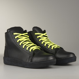 Course MX Sneakers  Black with Neon Laces
