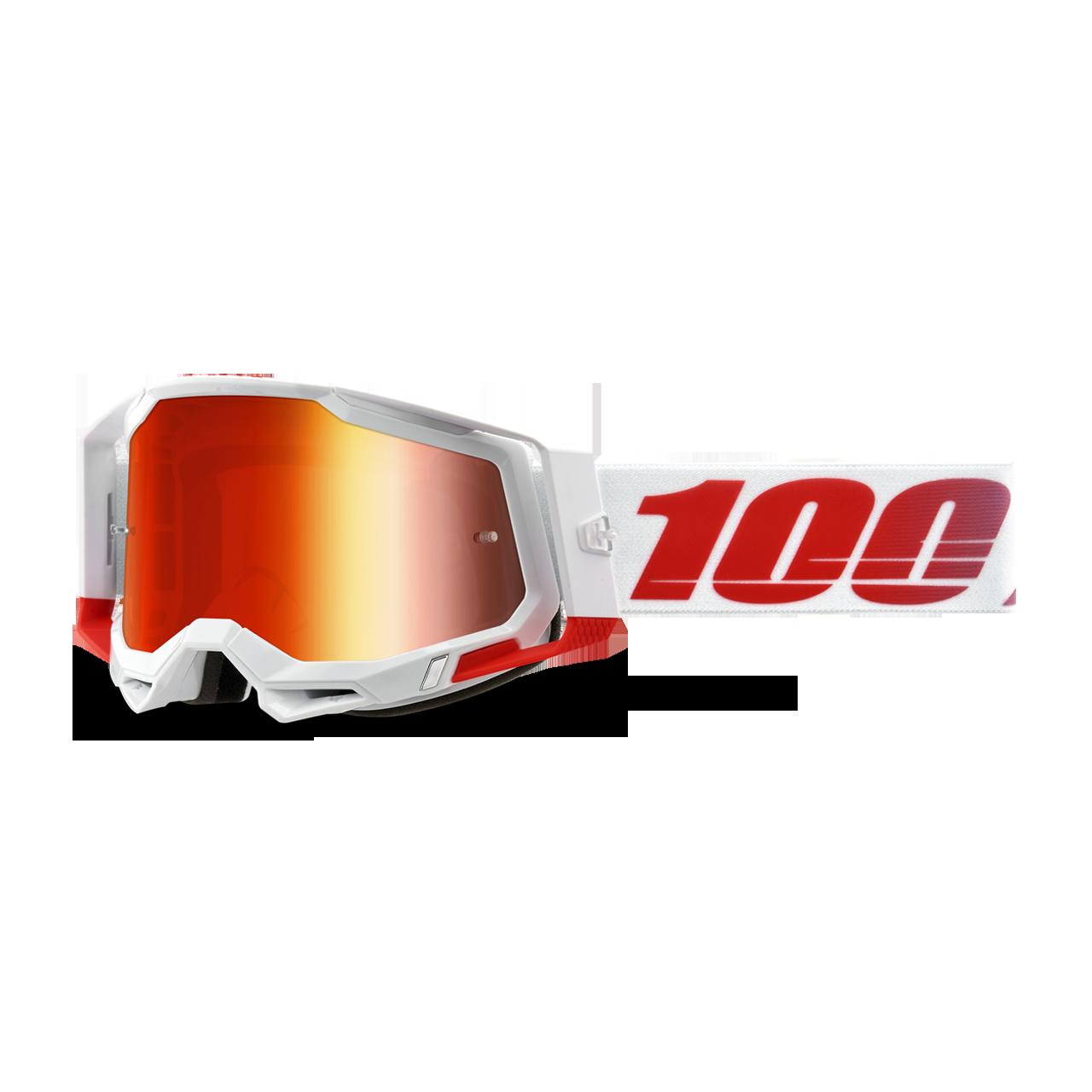 Unica Vario 100/% Racecraft 2 Maschera da Cross Unisex Adulto