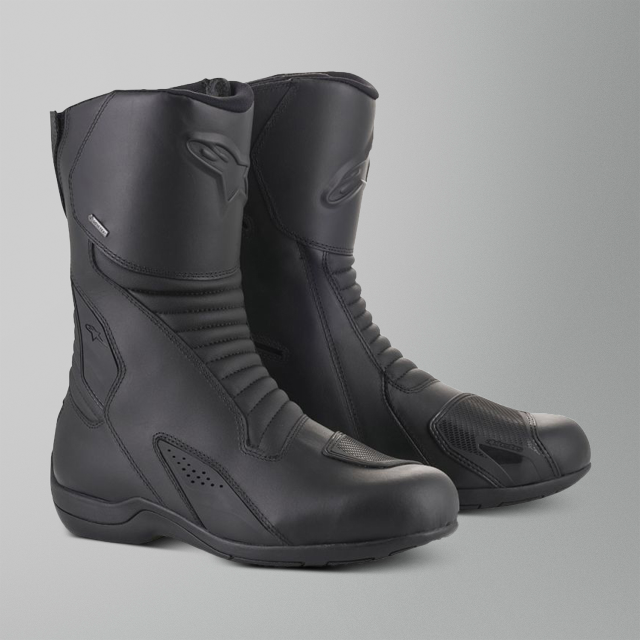 MC Skor Alpinestars Caracal Gore Tex Svart