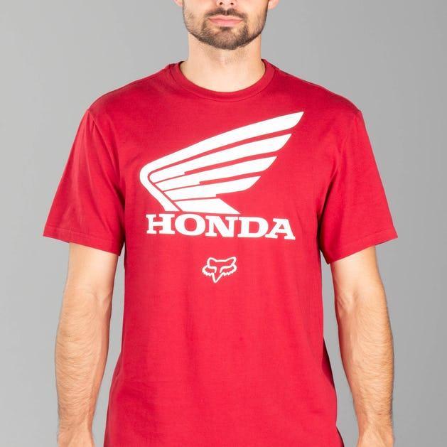 get new clearance sale best wholesaler Fox Honda SS T-Shirt Red - Now 20% Savings - XLmoto.eu