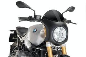 Owiewka Puig Semi-Fairing Retro BMW R nine T Czarna