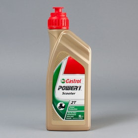 Castrol Power 1 Scooter 2T Olja 1Liter