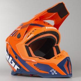 Kask Hebo Enduro Stratos Fiber Pomarańczowy