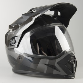 Bell MX-9 Advent Blackout Helmet Matte-Glossy