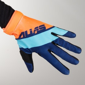 Alias Aka Lite Floated Cross-Gloves Blue/ Orange