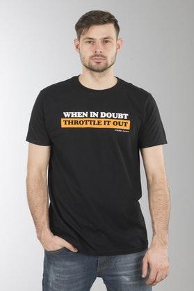 Koszulka XLMoto Doubt Czarna
