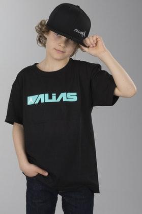 Koszulka Alias Block Czarny-Zielony Dziecko