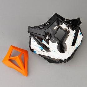 Części Zamienne Wlot Powietrza Przód Acerbis Steel Carbon/X-Pro Pomarańczowy