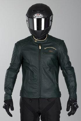 IXS Eliott Leather Jacket Green