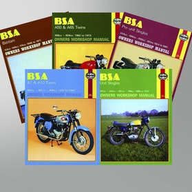 Haynes BSA Repair Manual