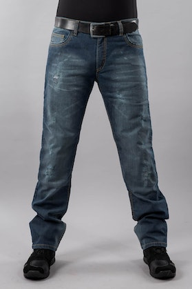 Course Ripped Aramid Reinforced Jeans Blue