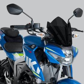 Vindskærm Puig New Generation Sport Suzuki, Mørk Røgfarve