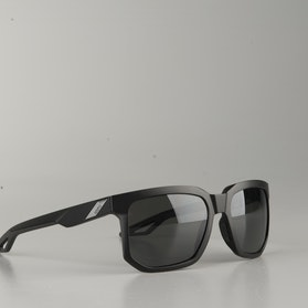PEAKPOLAR 100% Centric Sunglasses Matte Black-Smoke Lens