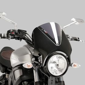 Owiewka Puig Retrovision Yamaha Karbon-Przydymiona