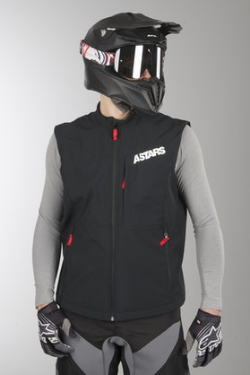 Alpinestars Session Race Enduro Vest Black-Red