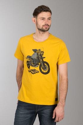 T-Shirt Revit Quin Żółty