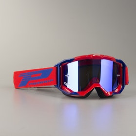 ProGrip 3303 Vista Cross-Goggles Multilayered - Red-Blue