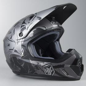 HJC CS-MX II Graffed MC5SF MX Cross Helmet Grey-Black