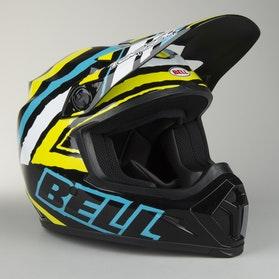Bell MX-9 Helmet Scrub Black-Green