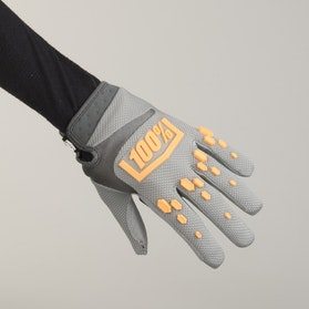 100% Airmatic Gloves Grey